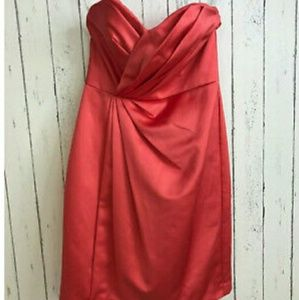 Nwt David bridal guava f15103 formal dress